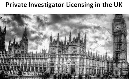 лицензирование детективов в Великобритании